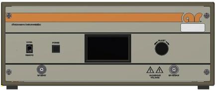 175A400 Amplifier Research Передняя панель