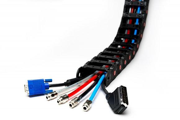 кабелеукладчики для ЭМС лабораторий