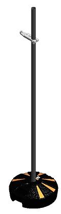 Диэлектрическая неотражающая подставка с перемещаемым зажимом для установки датчиков поля и других индикаторов.