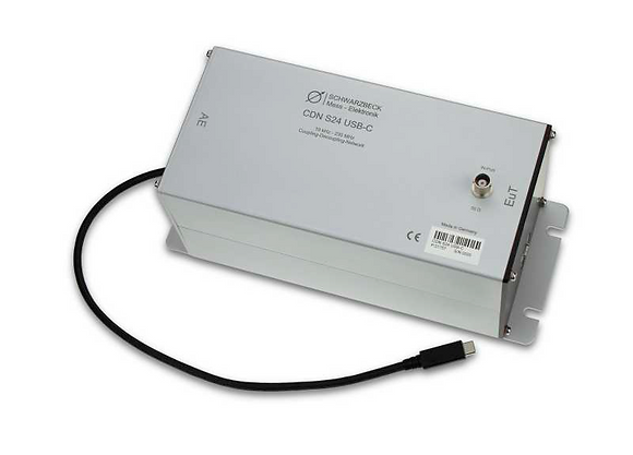 УСР S24 по ГОСТ 30804.4.6 для USB типа C от Schwarzbeck