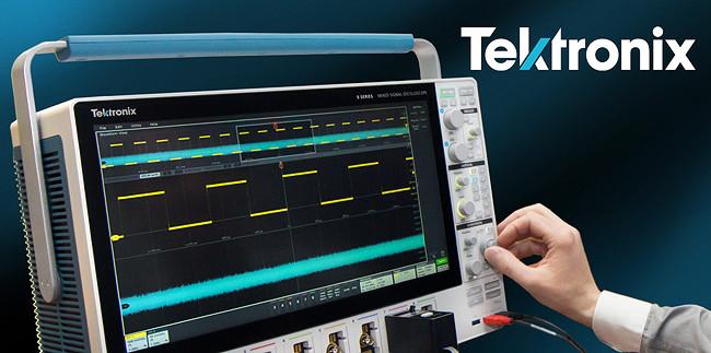 осциллограф MSO5 Tektronix для ЭМС измерений