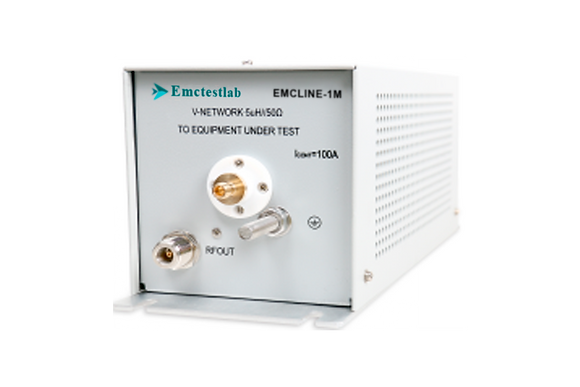 V-образный эквивалент сети Emctestlab типа (5uH + 1Ω) || 50Ω EMCLINE-1М
