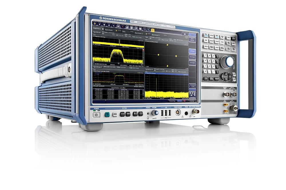 анализатор спектра FSW для измерений СШП сигналов