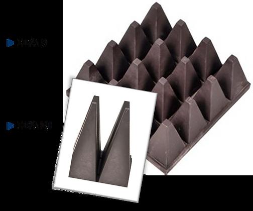 Радиопоглащающий материал HFA compact absorber РПМ