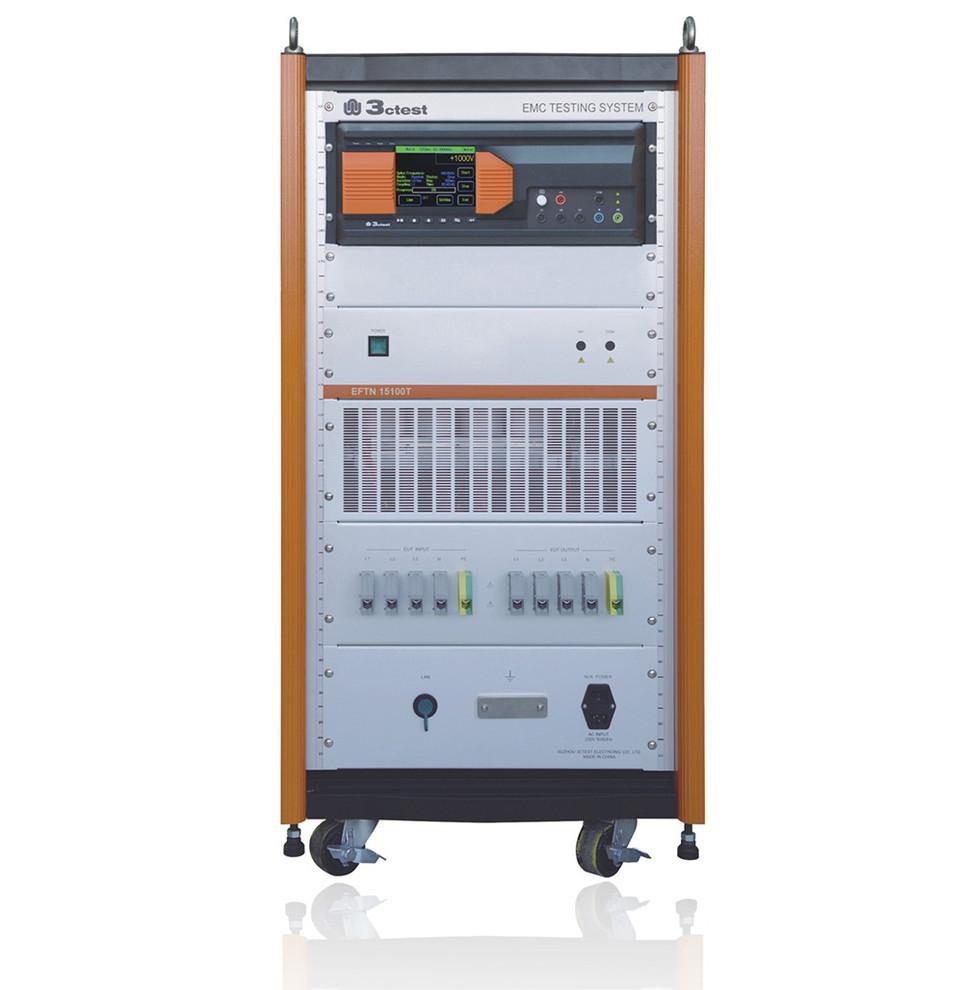 EFT 500G / EFTN 15100T Генератор наносекундных помех со встроенным полностью автоматическим трехфазным пятипроводным устройством связи-развязки