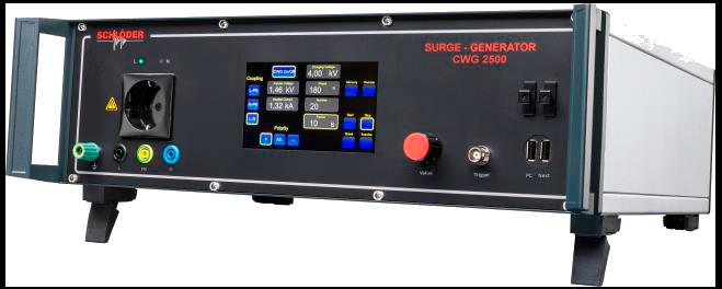 Schlöder CWG 2500 Испытательный генератор микросекундных помех IEC 61000-4-5