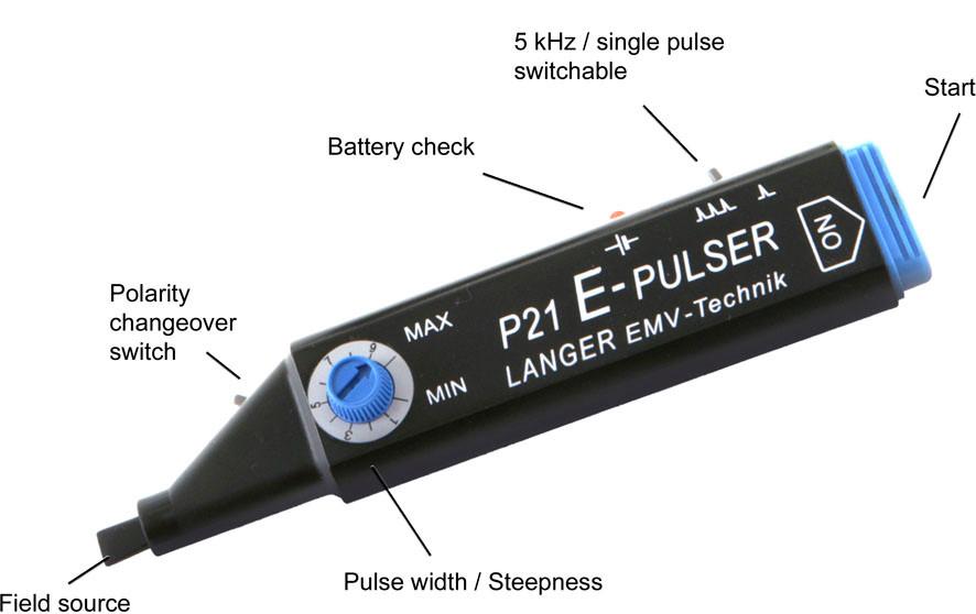Генератор импульсов ближнего поля до 100 кВ/м LANGER P21