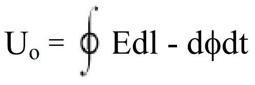 формула расчета напряжения помех от напряженности поля