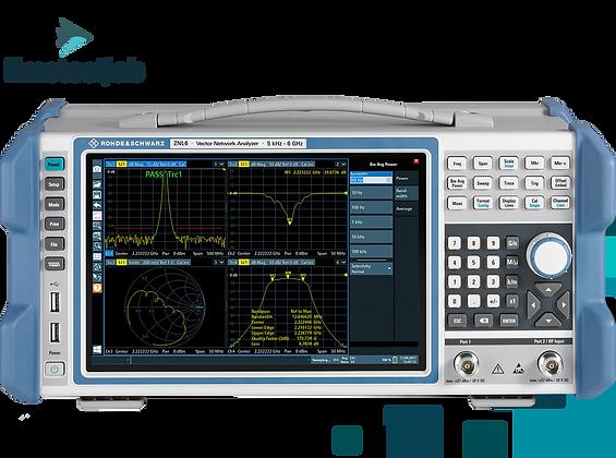 векторный анализатор цепей R&S®ZNL для аттестации УСР