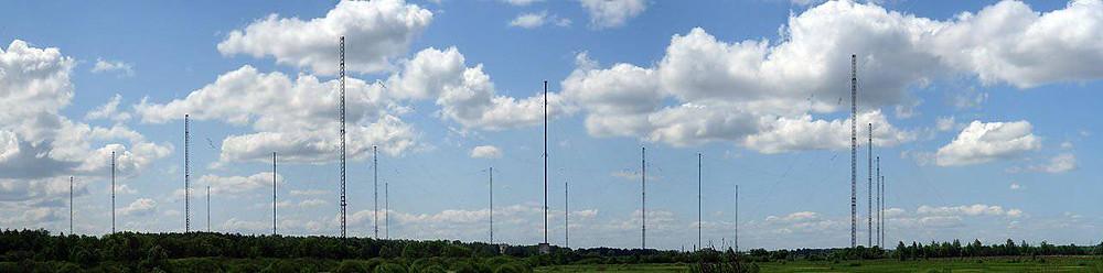 антенна сверхнизких частот для подводной связи