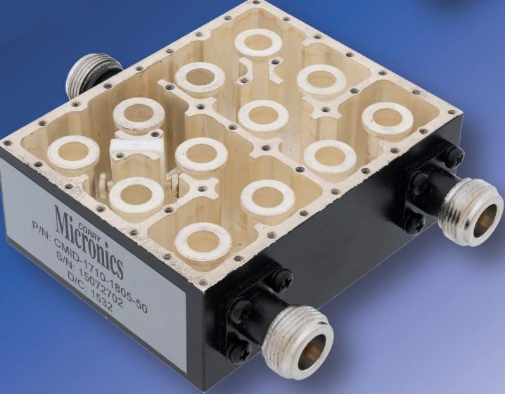 апертурный СВЧ фильтр для сигнальных линий