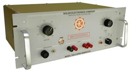 Solar Electronics 7054-2 Испытательный генератор импульсов напряжения КТ-160, раздел 17