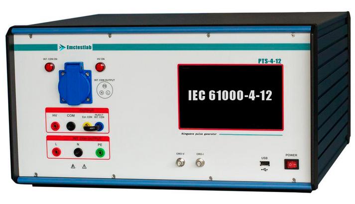"""PTS-4-12 Самый дешевый Испытательный генератор колебательных затухающих помех типа """"Звенящая волна"""""""