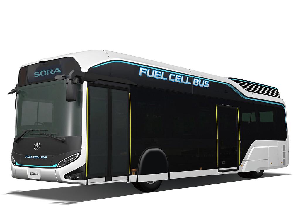 автобус TOYOTA под электронным управлением