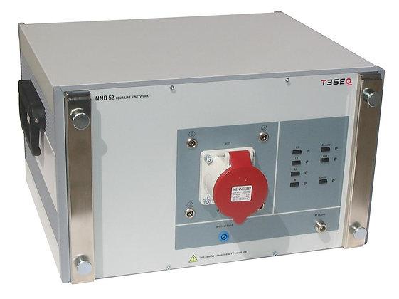 Трехфазный эквивалент сети TESEQ NNB 52 для измерения радиопомех в сети