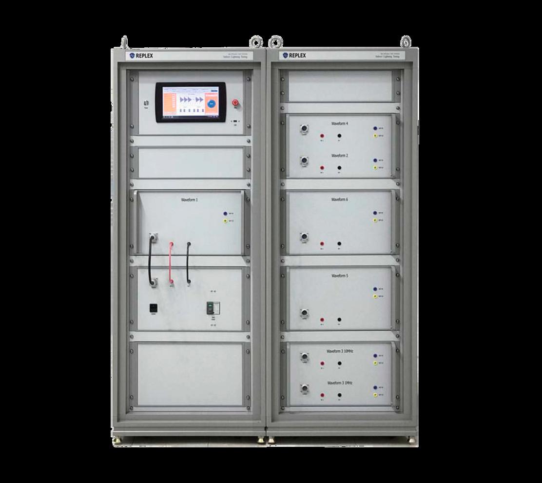 LEMP-DCG-CS117 - Испытательная система Replex для имитации эффектов от косвенного воздействия разрядов молний до 1500А по методам MIL-STD-461 CS117
