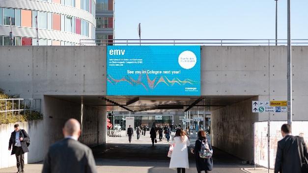Конференция по ЭМС ENV2019 вывеска