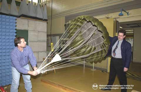 Излучатель ЭМИ - парашют