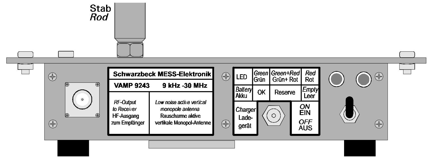 активная антенна 9кГц - 30МГц