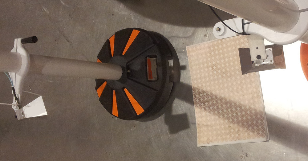измерение отражений двумя антеннами