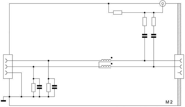 ИТС заземляется на пластину непосредственно УСР-С2