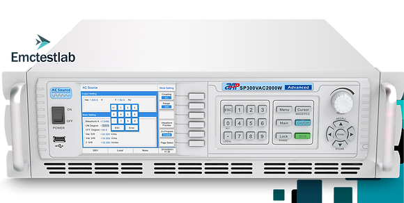 Программируемый источник питания 300В 1500ВА APM Tech изменение частоты/напряжения/гермоники тока