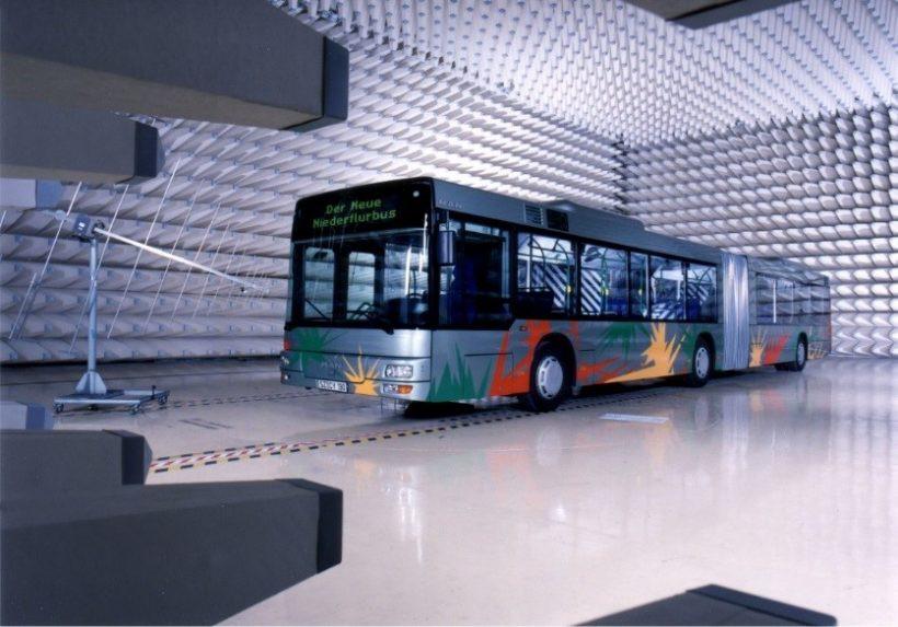 испытания на ЭМС общественного транспорта