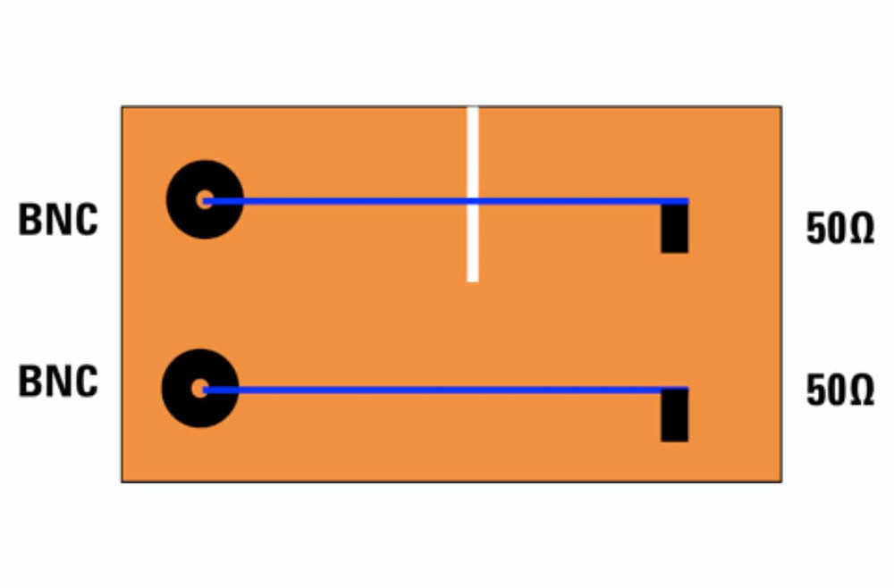 Преграда в виде прорези на пути обратного тока