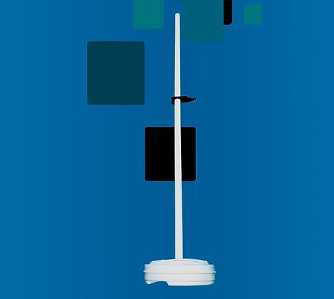Диэлектрическая неотражающая подставка для установки датчиков поля в безэховой камере