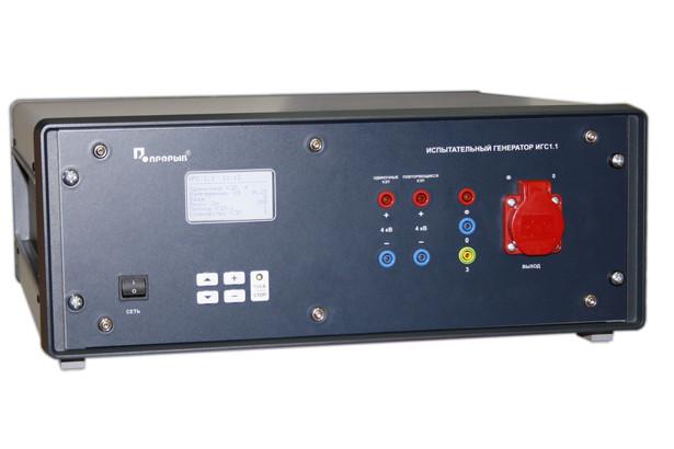 Испытательный генератор медленной колебательной затухающей волны ИГС 1.3 НПП ПРОРЫВ