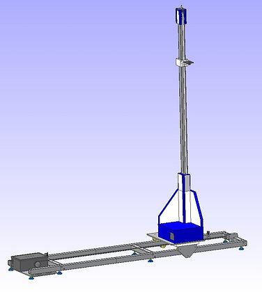 Автоматический позиционер датчика поля MATURO для однородности поля