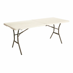 Grey Plastic Trestle Table 6ft and 8ft