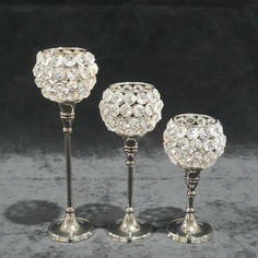 Crystal Votive - Set of 3