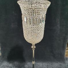 Crystal Hurricane Candle Holder