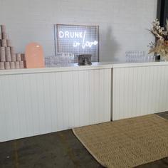 White Timber Bar