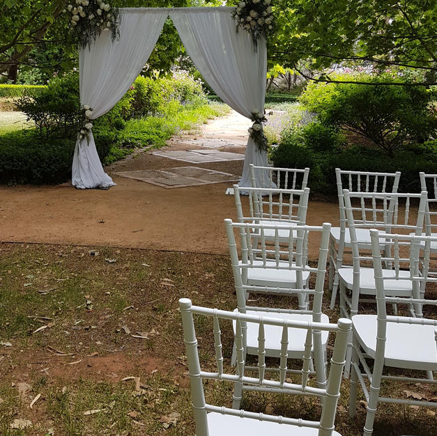 Curtained Arbour