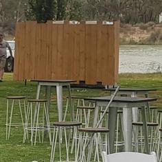 Timber Screening Wall