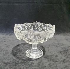 Floral Pedestal Bowl