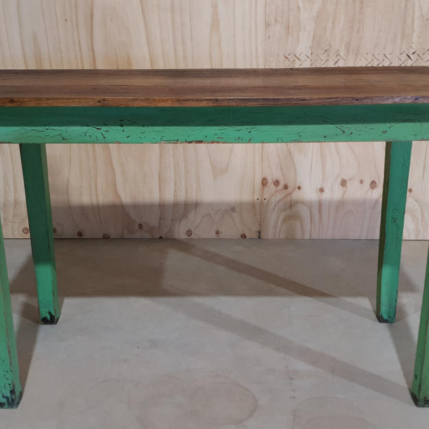 Vintage Green Table
