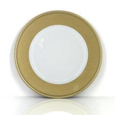 Gold Rim Charger Plate