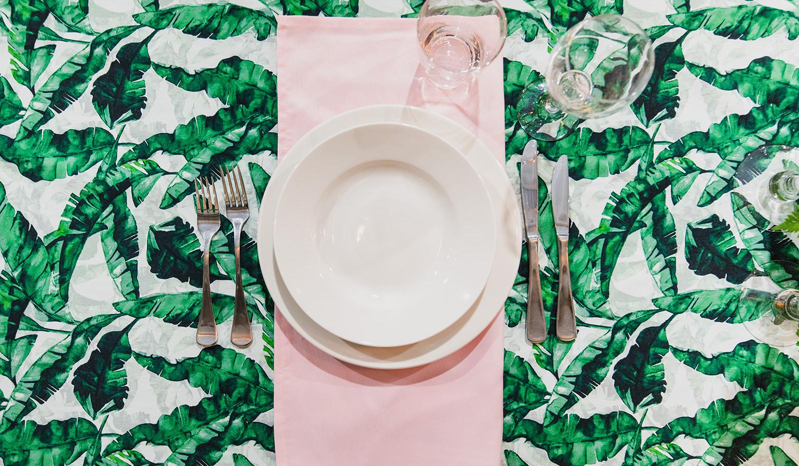 Pink Serviette