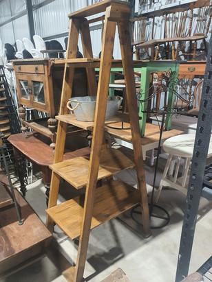 Timber display ladder