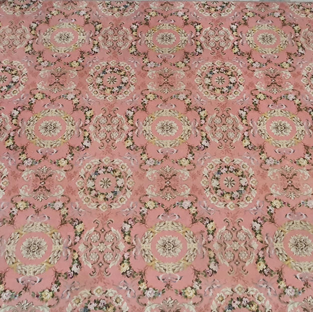Pink Axminster 3.3m x 2.7m