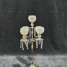 Crystal Candleabra 5 arm small