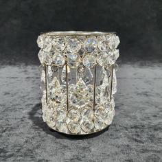Crystal Droplet Candle Holder