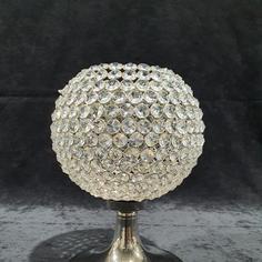 Crystal Pedestal Votive