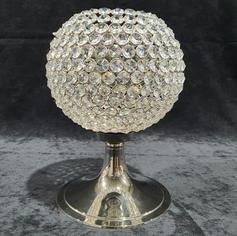 Crystal Pedestal Votive - 35cm