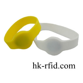 [NST-WX65A]NFC Silicone Wristband Adv.
