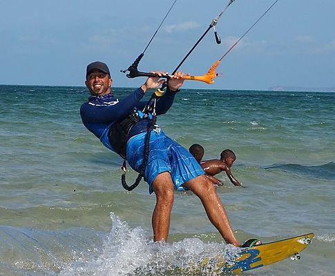 Kite surf instructor vilanculos mozambique