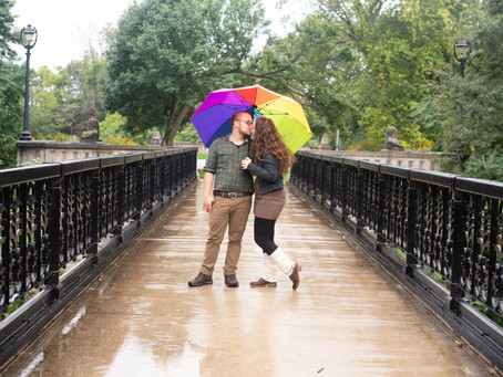 An Engagement Photo Session At Lake Park